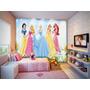 Papel De Parede Infantil Feminino Princesas Barbie 3,5m²