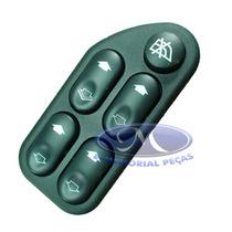Interruptor Quadruplo Acionamento Vidros Po Fiesta-2002-9999