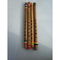 Flauta Tranversal De Bambú - Wa Instrumentos