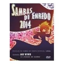 Dvd Samba De Enredo 2014 *lacrado*