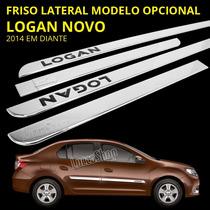 Friso Cromado Logan Novo Modelo Opcional - Logan 2014 / 2015