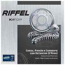 Kit Relação Riffel Top Yamaha Xtz250 Ténéré C/ Retentor