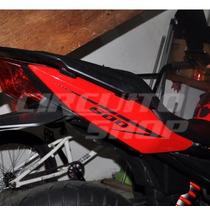 Kit Adesivos Faixa Carenagem 600 Rabeta Moto Yamaha Xj6 M02
