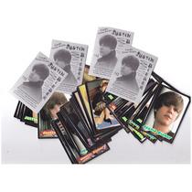 Lote Com 33 Figurinhas Para Fã Justin Drew Bieber