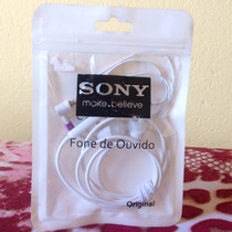 Fone De Ouvido Original Sony Mane Believe