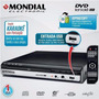 Dvd Player Mondial D-15 Karaokê Ripping Usb Picture Cd Mp3