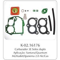 Kit Carburador Vw Santana - Gm Monza Brosol 3e