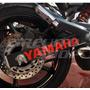 Adesivo Refletivo Balança Moto Yamaha Xj6 M01 Frete Grátis