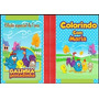 10 Kits Livro De Colorir Personalizado + Giz De Cera