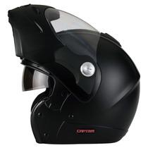 Capacete Moto Mixs Mx Captiva Com Óculos Fumê Interno Fosco