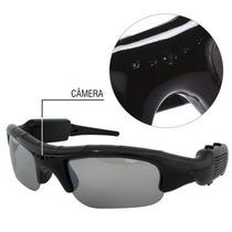 Oculos De Sol Espião Mini Camera Hd