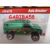 Hot Wheels Baja Breaker 2005 Classics Green Gariba58