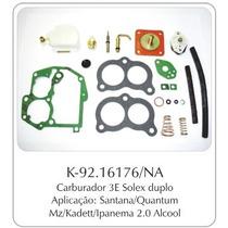 Kit Carburador Ford/gm/vw Brosol 3e Alcool Completo