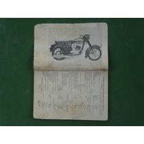 Manual De Serviços P/ Moto Jawa 250 E 350 Cc Idioma Espanhol