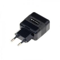 Fonte Carregador Dual Usb Preto Para Dispositivos Usb (764)