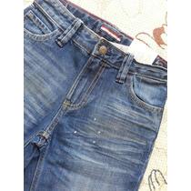 Caçla Jeans Tommy Hilfiger Tam 7 E 10 Anos - Importado
