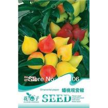 10 Sementes De Pimenta Pessego + Frete R$5,00