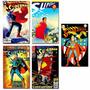Kit 10 Imãs Revista Superman Dc Comics Quadrinhos Justice