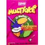 Dvd Multioke - O Melhor Dos Sucessos Populares - Karaoke