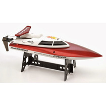 Lancha Profissional Ft009 2.4ghz R/c 40km Rtr = Completa