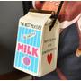 Bolsa Divertida Caixa Leite Milk Mareu Fashionista Funny