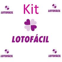 Kit Lotofácil - 75 Planilhas Aumente Suas Chances De Ganhar