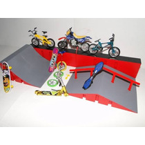 Pista Skate Dedo Sbego Park Bike Motocicleta Acessorios