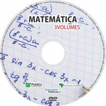 Matemática Para Concursos Públicos Video Aula Em 3 Dvds
