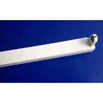 Suporte Calha P/lamp Led T8 Fluoresc.120cm- Cx.10 Pç