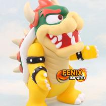 Boneco Bowser Mestre Vilão Super Mario Articulado Nintendo