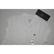 Camiseta Gola Polo Infantil Femin. Tommy Hilfiger - Cores