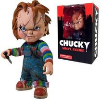 Brinquedo Assassino Figura Vinil Chucky 15cm - Mezco