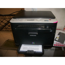 Multifuncional Laser Colorida Samsung Clx 3185n Com Nota