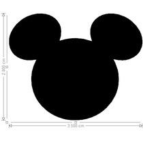 100 Recortes Cabeça Mickey