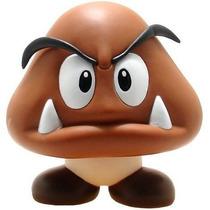 Goomba Boneco Goomba Super Mario Articulados Turma Do Mario