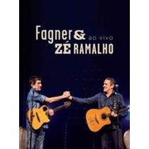 Dvd Fagner & Zé Ramalho - Ao Vivo - Produto Original