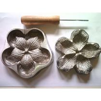 Frisador Para Eva Em Alumínio - Rosa Conjugada Grande