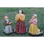 Pastorinhos De Fatima 50cm Colorido