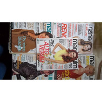 Kit Com 5 Revistas Manequim 2006/2007/2012/2013 Com Moldes