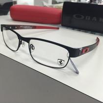 Oculos Receituario Oakley Ferrari Carbon Plate Ox5079-0453