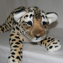 Filhote De Onça De Pelúcia Safari - 60cm