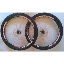 Rodas Para Bicicleta Aro 26 Aero, Viper Ou Vzan