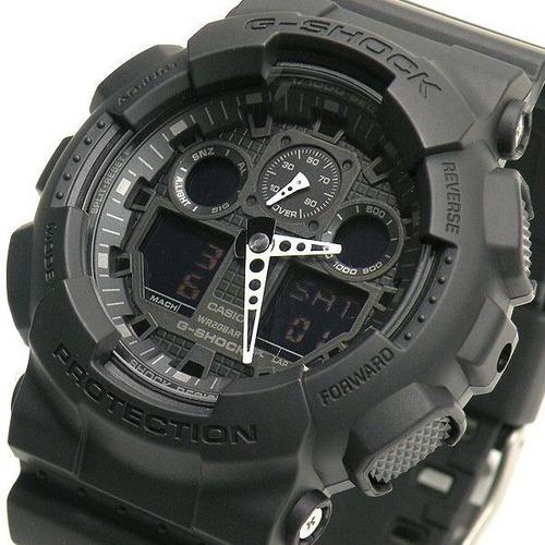 a0586e8a338 Relógio Casio G-shock Ga 100-1a1dr - Novo - 1 Ano Garantia