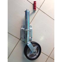Roda Pedestal Para Reboque Carretinha, 5 Roda