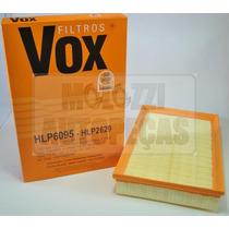 Filtro Ar Vw Gol/parati 1.0 16v/power 08.01/ - Golf 1.6 8v 0