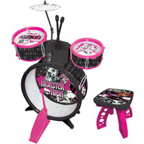 Bateria Infantil Monster High Original Fun