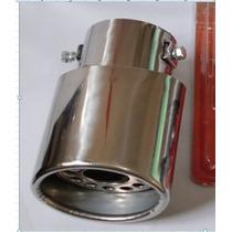 Ponteira Abafador Esportivo Aço Inox Entrada 2,5 Universal