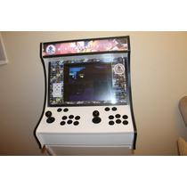 Kit Fliperama Multi Jogo Sem Furos Pc Xbox Gabinete Arcade