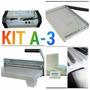 Kit Plastificadora A-3/encadernadora/guilhotina E Material