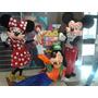 Fantasias Mickey, Minie E Pateta Super Luxo